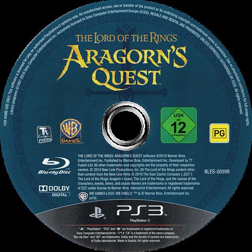 El Señor de los Anillos: Las Aventuras de Aragorn PS3 discM (BLES00998)
