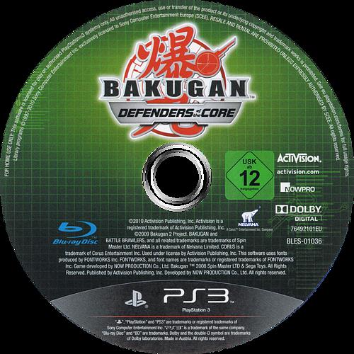 Bakugan: Defensores de la Tierra PS3 discM (BLES01036)