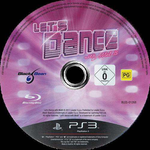 Let's Dance with Mel B PS3 discM (BLES01268)