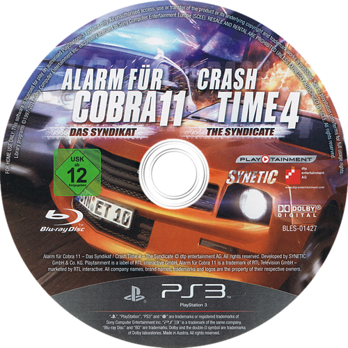 PS3 discM (BLES01427)