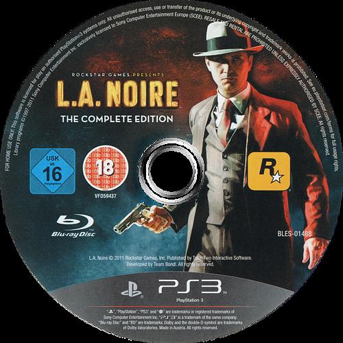 L.A. Noire: La Edición Completa PS3 discM (BLES01488)