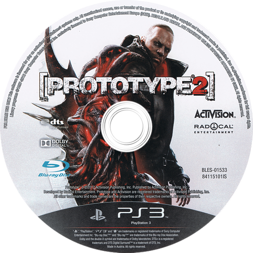 PS3 discM (BLES01533)