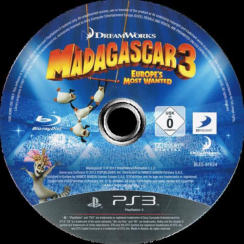 Madagascar 3: De Marcha por Europa PS3 discM (BLES01624)