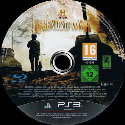 PS3 discM (BLES01744)