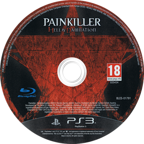 PS3 discM (BLES01791)