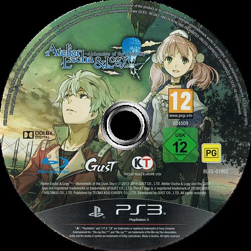 PS3 discM (BLES01992)