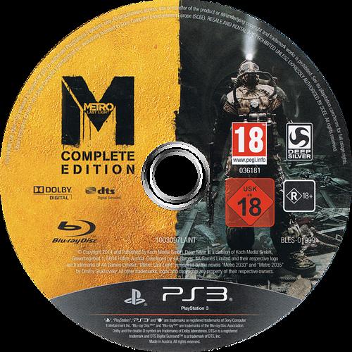 PS3 discM (BLES01999)