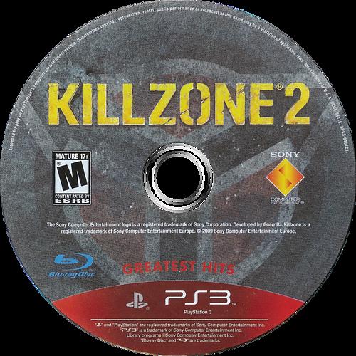 Killzone 2 PS3 discM (BCUS98116)