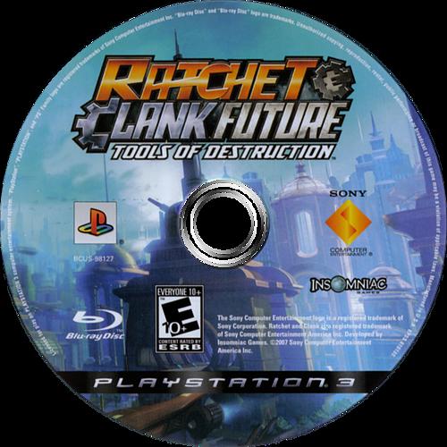 Ratchet & Clank: Future - Tools of Destruction PS3 discM (BCUS98127)