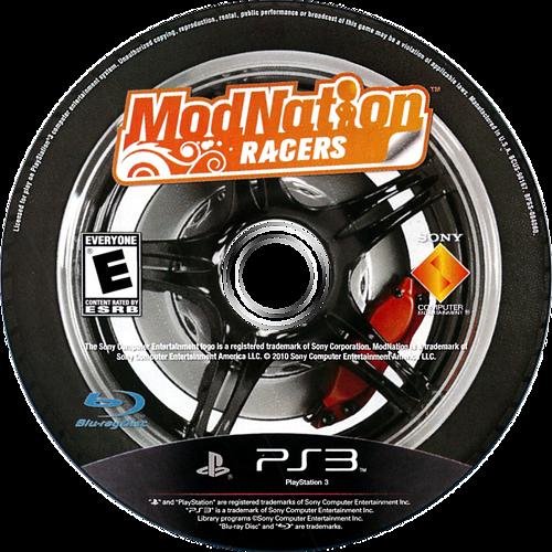 ModNation Racers PS3 discM (BCUS98167)