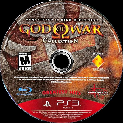 God of War Collection PS3 discM (BCUS98229)