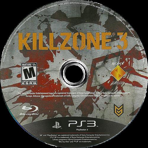 Killzone 3 PS3 discM (BCUS98234)