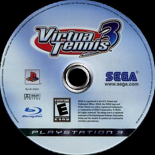Virtua Tennis 3 PS3 discM (BLUS30021)