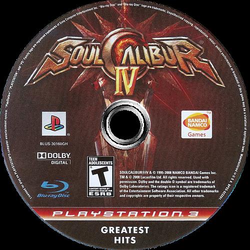 Soul Calibur IV PS3 discM (BLUS30160)