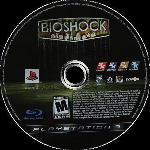 BioShock PS3 discM (BLUS30166)
