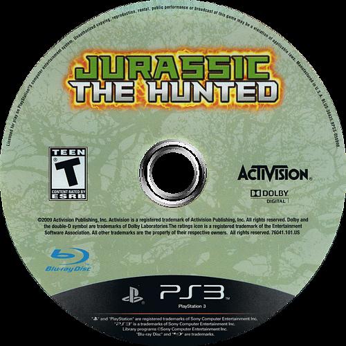 Jurassic: The Hunted PS3 discM (BLUS30435)
