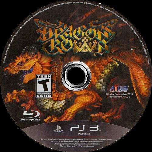 Dragon's Crown PS3 discM (BLUS30767)