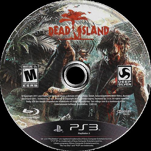 Dead Island PS3 discM (BLUS30790)