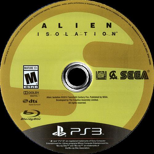 Alien: Isolation PS3 discM (BLUS30832)