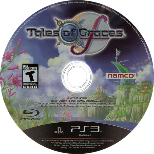 Tales of Graces F PS3 discM (BLUS30903)