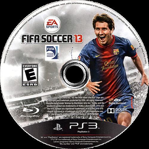 FIFA Soccer 13 PS3 discM (BLUS30998)