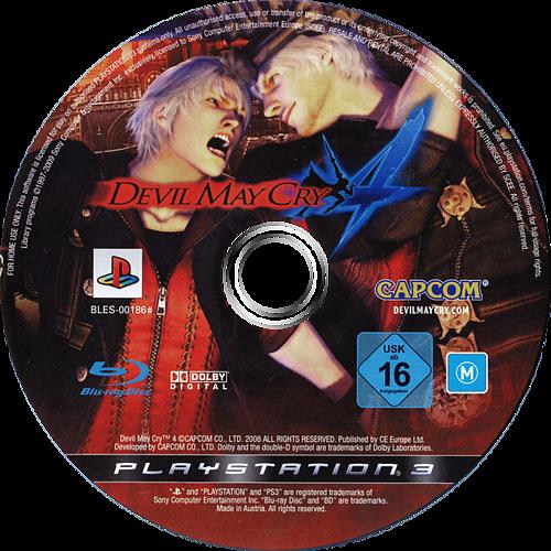 Devil May Cry 4 PS3 discMB (BLES00186)