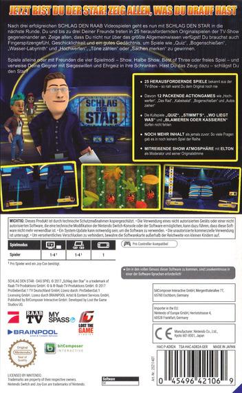 Schlag den Star - Das Spiel Switch backM (AD82A)