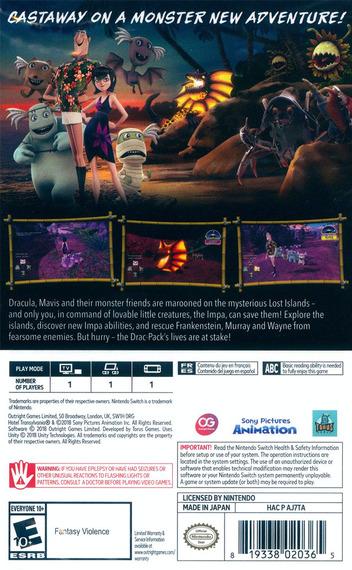 Hotel Transylvania 3 - Monsters Overboard Switch backM (AJ7TA)
