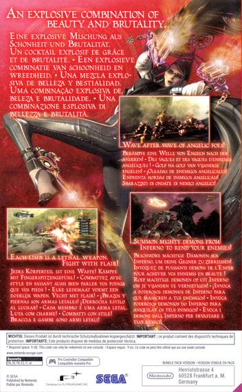 Bayonetta 2 Switch backM2 (AE98A)