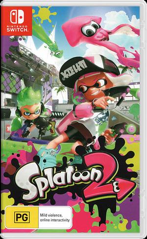 Splatoon 2 Switch cover (AAB6C)
