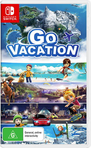 Go Vacation Switch cover (AF2GB)