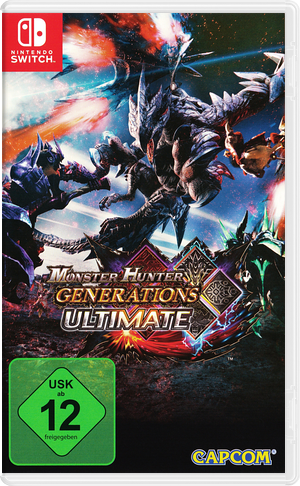 Monster Hunter - Generations - Ultimate Switch cover (AAB7B)