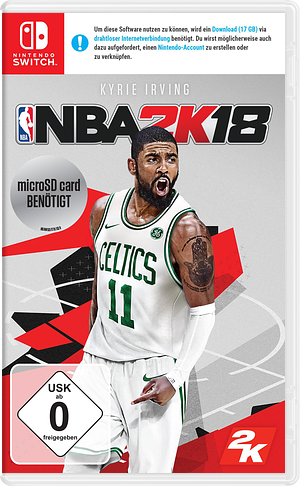 NBA 2K18 Switch cover (AB38A)