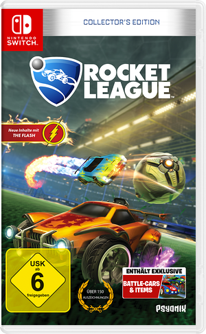 Rocket League Switch cover (ADMMA)