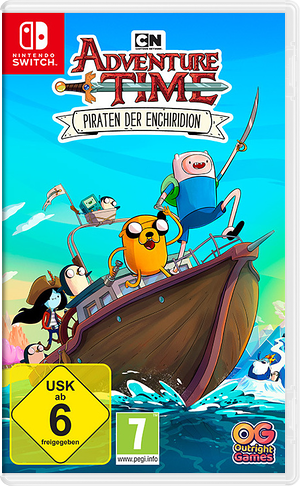 Adventure Time - Pirates of the Enchiridion Switch cover (AES9A)