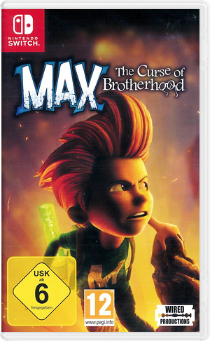 Max - The Curse of Brotherhood Switch cover (AJ29C)