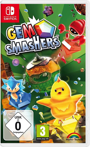 Gem Smashers Switch cover (AK2JA)
