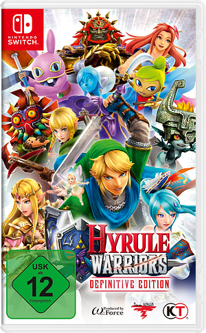 Hyrule Warriors: Definitive Edition Switch cover (AKUTB)