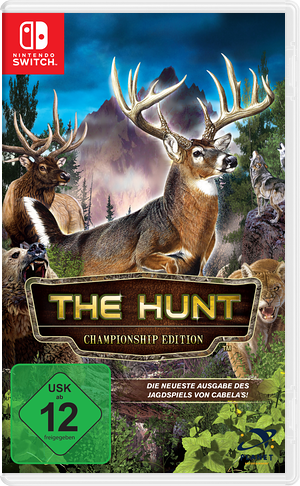 Cabela's - The Hunt - Championship Edition Switch cover (AMU4B)