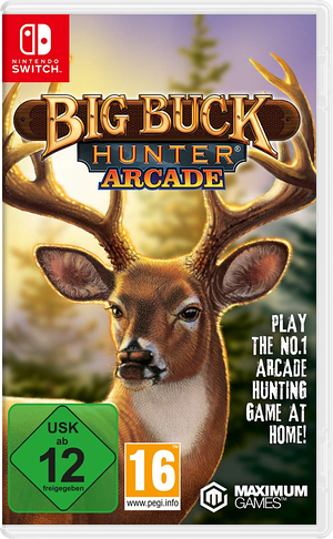 Big Buck Hunter Arcade Switch cover (APJYB)