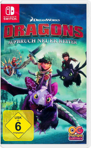 Dragons - Dawn of New Riders Switch cover (AQTMA)