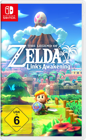 The Legend of Zelda: Link's Awakening Switch cover (AR3NA)