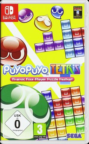 Puyo Puyo Tetris Switch cover (BAACA)