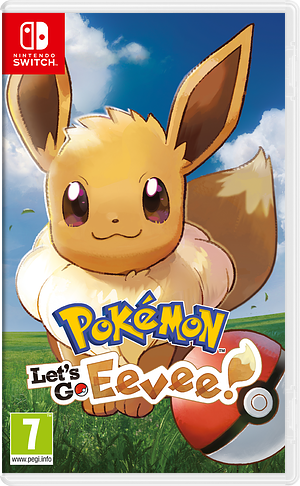 Pokémon: Let's Go, Eevee! Switch cover (ADW3A)