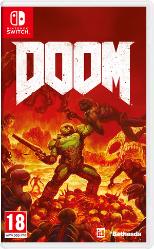 DOOM Switch cover (AF3BA)