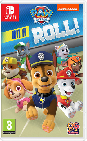 Nickelodeon Paw Patrol - On A Roll Marshall Switch cover (AFLRA)