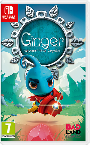Ginger: Beyond the Crystal Switch cover (AJAGA)