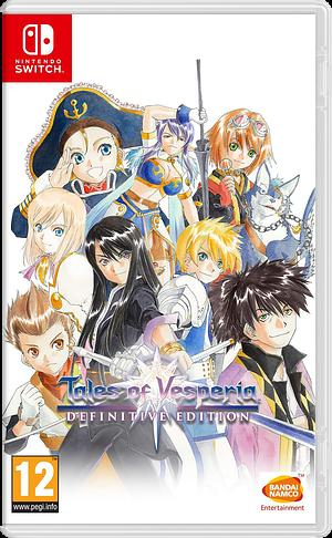Tales of Vesperia: Definitive Edition Switch cover (AL7WA)