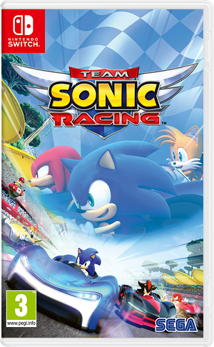 Team Sonic Racing Switch cover (AMKCB)