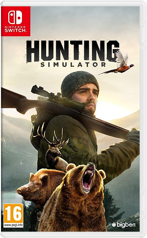 Hunting Simulator Switch cover (AMM5A)
